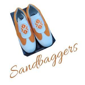 Brand New In Box Sandbaggers Bali Ladies Golf Shoe